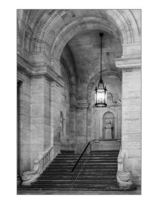 Empty Staircase NYPL
