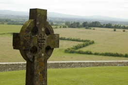 Celtic Cross Countryside