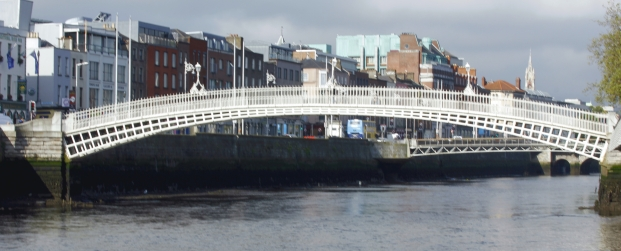 Spanning the Liffey
